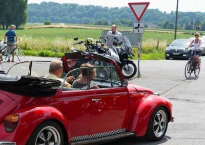 Oldtimer, Motorräder, Fahrräder