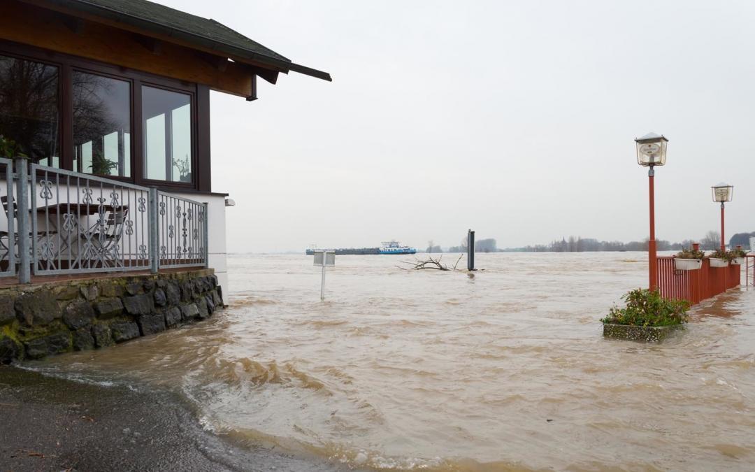 Wir erwarten den Scheitelpunkt des Hochwassers